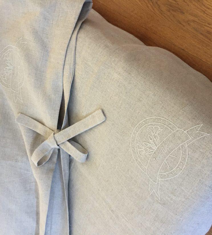 100% linen bedding + sheet set 140x200cm