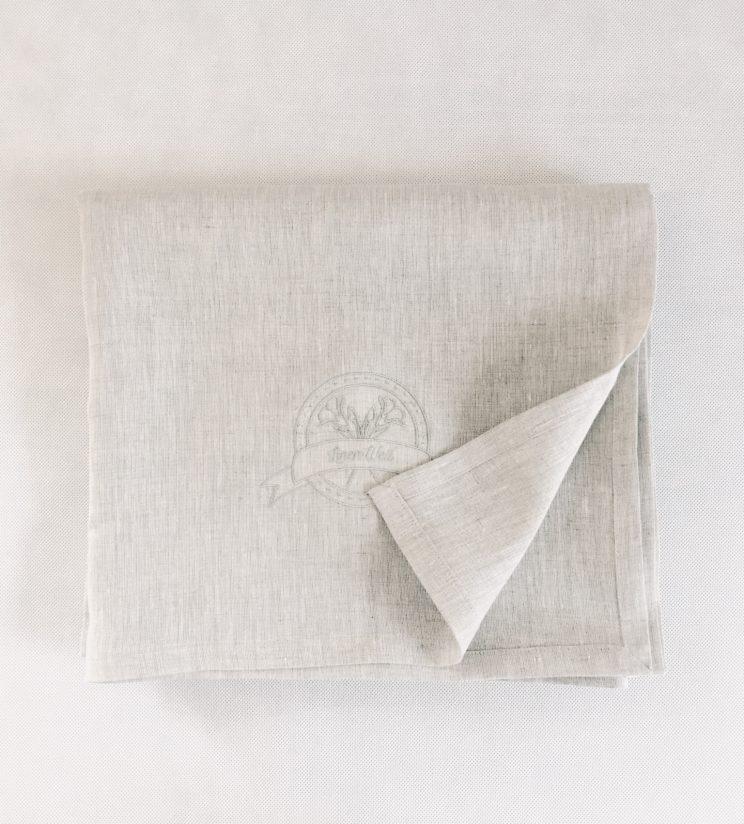 Single Flat Sheet 100% linen