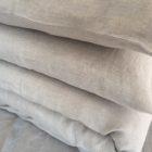 100% linen bedding + sheet set 200x200cm