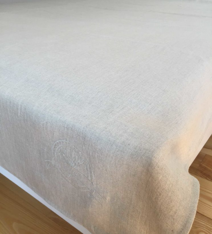 Double Flat Sheet 100% linen certified by OEKO-TEX®