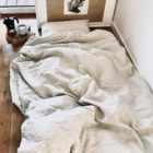 Double Bedlinen Set + Flat Sheet 100% linen certified by OEKO-TEX®