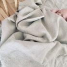 Poszewki niemowlęce 100% len 60x40cm z certyfikatem OEKO-TEX®