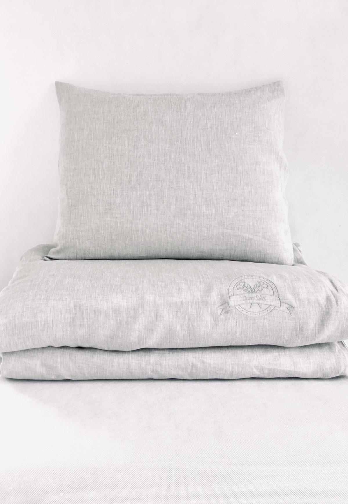 Single Bedlinen Set + Flat Sheet 100% linen